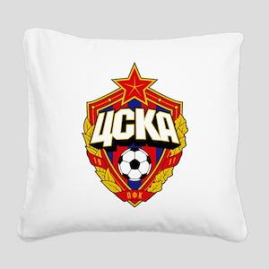 CSKA Soviet Russian Football Square Canvas Pillow