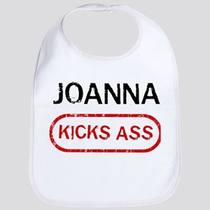 JOANNA kicks ass Bib