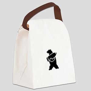 Wojtek The Soldier Bear! Canvas Lunch Bag