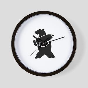 Retro Wojtek The Soldier Bear! Wall Clock