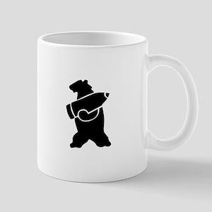 Retro Wojtek The Soldier Bear! Mugs