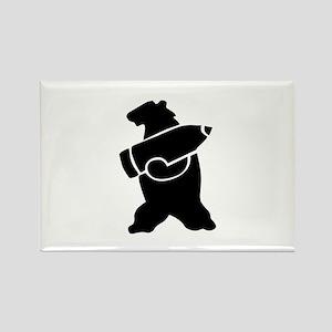 Retro Wojtek The Soldier Bear! Magnets