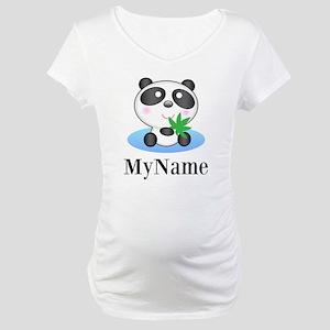 Panda (p) Maternity T-Shirt