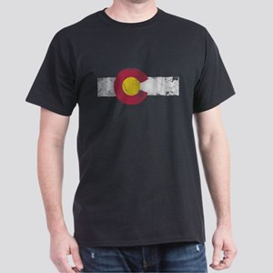 Vintage Colorado State Flag Fade T-Shirt
