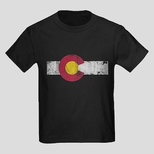 Vintage Colorado State Flag Fade T-Shirt