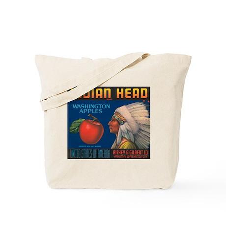 Indian Head Vintage Crate Lab Tote Bag