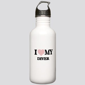 I love my Diver (Heart Stainless Water Bottle 1.0L