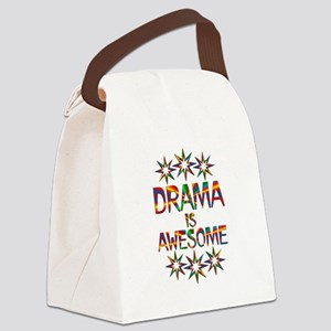 Drama is Awesome Canvas Lunch Bag