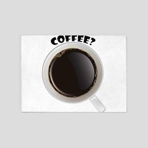 Coffee anyone? 5'x7'Area Rug
