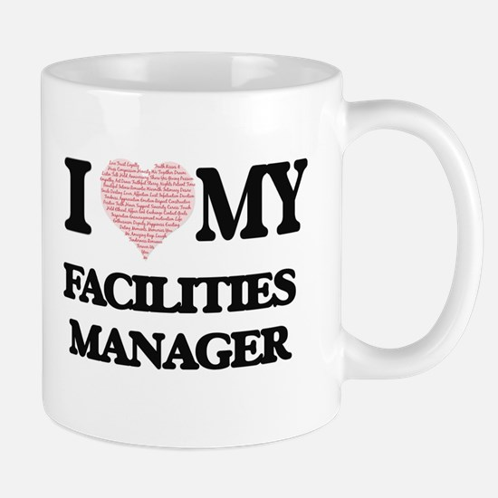 I love my Facilities Manager (Heart Made from Mugs