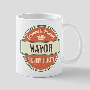 mayor vintage logo Mug