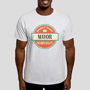 mayor vintage logo Light T-Shirt