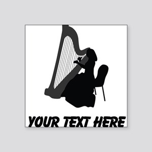 Harp Player (Custom) Sticker
