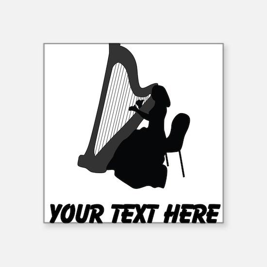 Harp Player (Custom) Sticker