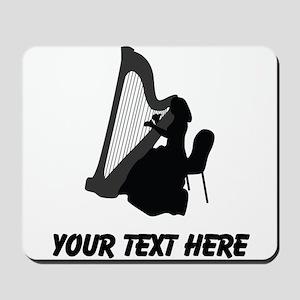 Harp Player (Custom) Mousepad