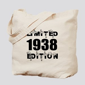 Limited 1938 Edition Birthday Designs Tote Bag