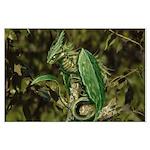 Earth Leaf Dragon Posters