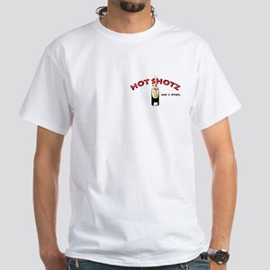T-Shirt Pocket logo Tipping on Back (white)
