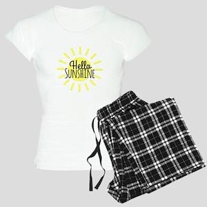 Hello Sunshine Women's Light Pajamas