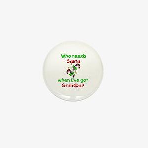 Christmas Mini Button
