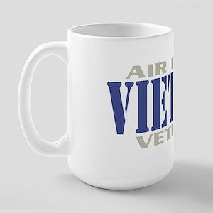 VIETNAM AIR FORCE VETERAN! Large Mug