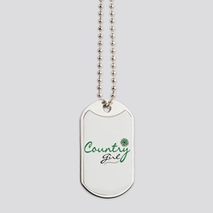 Country Girl Dog Tags