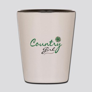 Country Girl Shot Glass