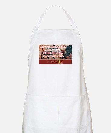 No Winners in Dogfighting BBQ Apron