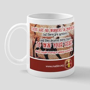 No Winners in Dogfighting Mug