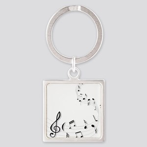 Music for the soul Keychains