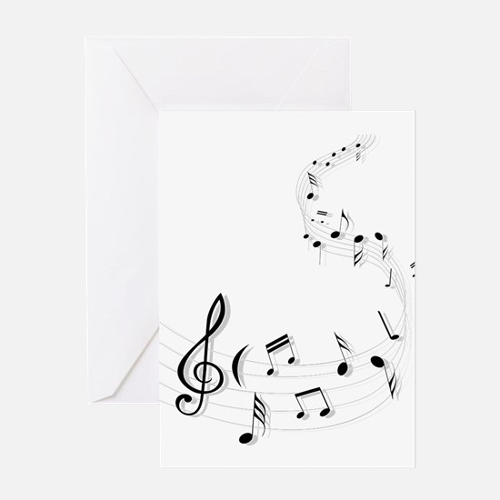 Music for the soul Greeting Cards