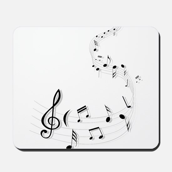 Music for the soul Mousepad