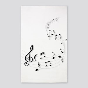 Music for the soul Area Rug