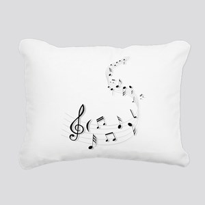 Music for the soul Rectangular Canvas Pillow
