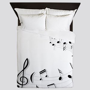 Music for the soul Queen Duvet