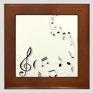 Music for the soul Framed Tile
