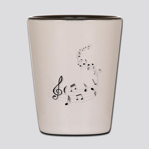 Music for the soul Shot Glass