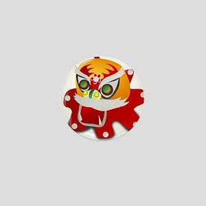 chinese dragon Mini Button