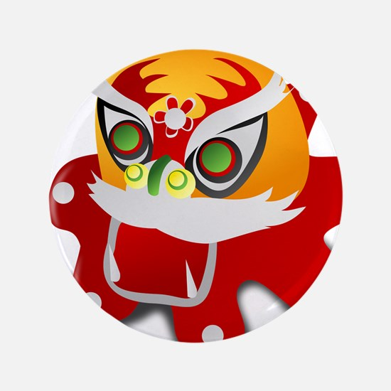 """chinese dragon 3.5"""" Button (100 pack)"""