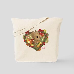 GOTG Baby Groot Valentine Tote Bag