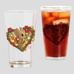 GOTG Baby Groot Valentine Drinking Glass