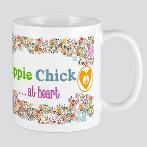 Hippie Chick at Heart Mug