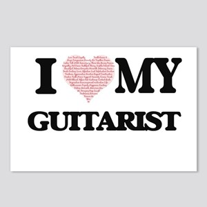 I love my Guitarist (Hear Postcards (Package of 8)