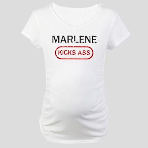 MARLENE kicks ass Maternity T-Shirt