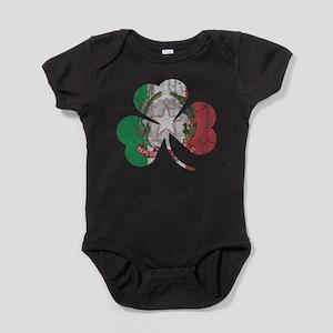 Italian Irish Shamrock Baby Bodysuit