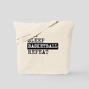 Eat Sleep Basketball Repeat Tote Bag