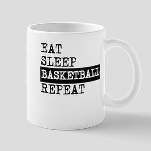 Eat Sleep Basketball Repeat Mugs
