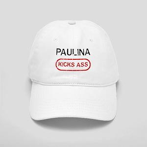 PAULINA kicks ass Cap