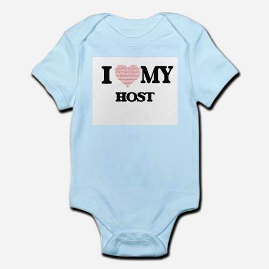 I love my Host (Heart Made from Words) Body Suit