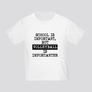 12362ffd8dc Funny Volleyball Sayings Toddler T-Shirts - CafePress